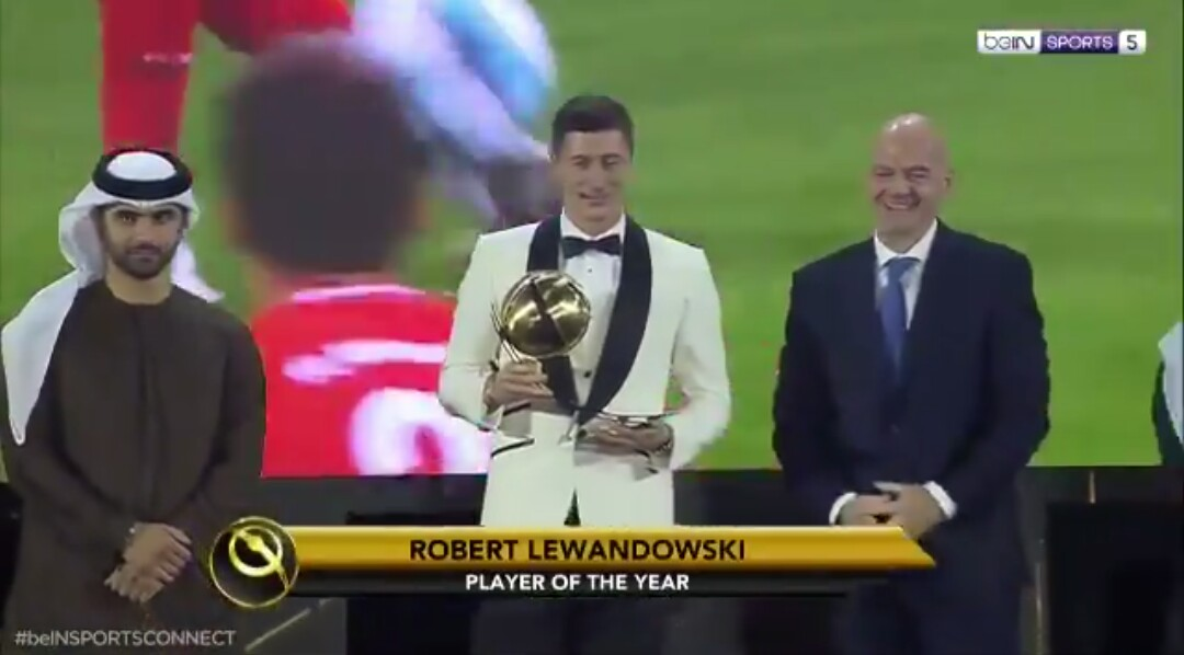 Cristiano Ronaldo Player of The Year Award