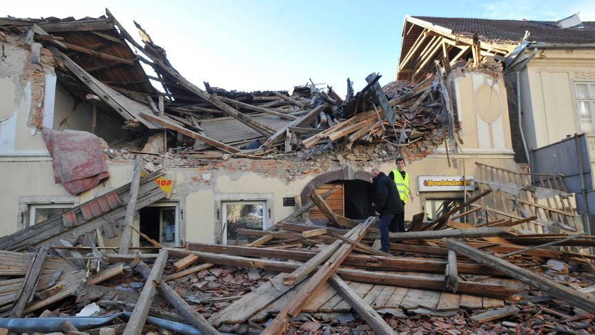 Croatia Earthquake: At Least 6 Killed, Dozens Injured