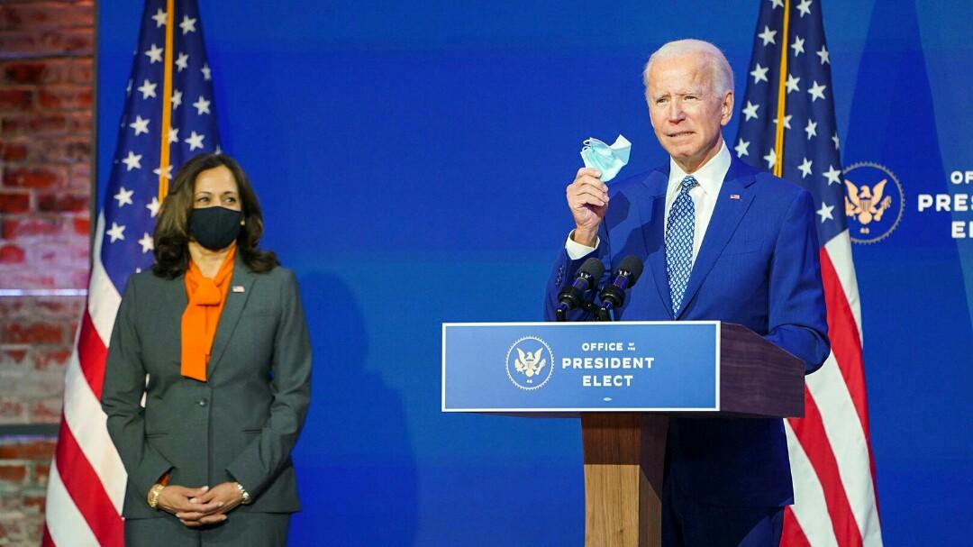 New Survey Shows Nearly 70 Percent Backs Joe Biden's Federal Mask Mandate