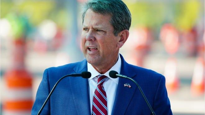 Trump calls on Georgia's Republican Governor Brian Kemp to Resign