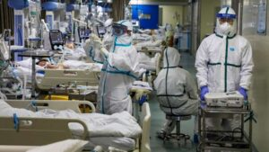 United States Hospitalizations From Coronavirus Hits All-Time High