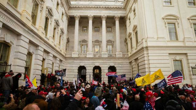 Capitol Rioters Lose Jobs After Social Media Users Identifies Them