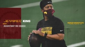 Jennifer King Becomes Washington Team And NFL's First Black Female Assistant Position Coach
