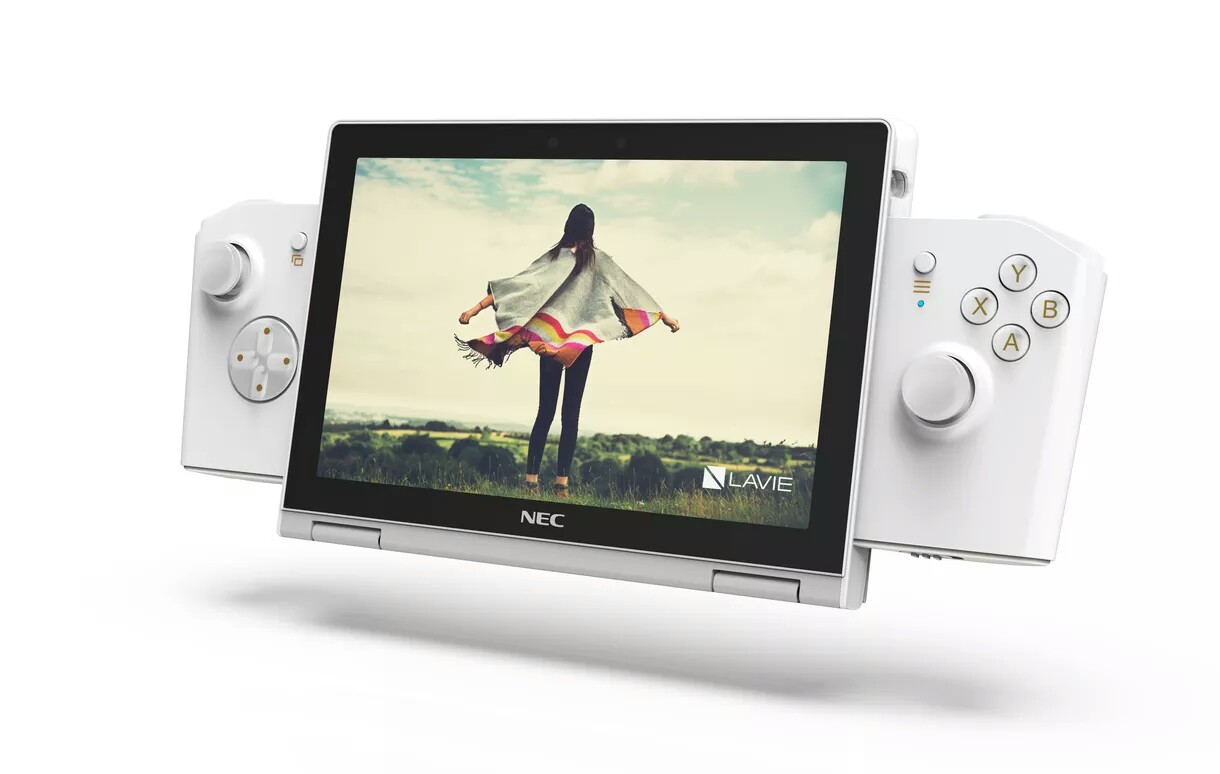 Lenovo Plans on Making a Handheld PC Like Nintendo Switch, The LaVie Mini