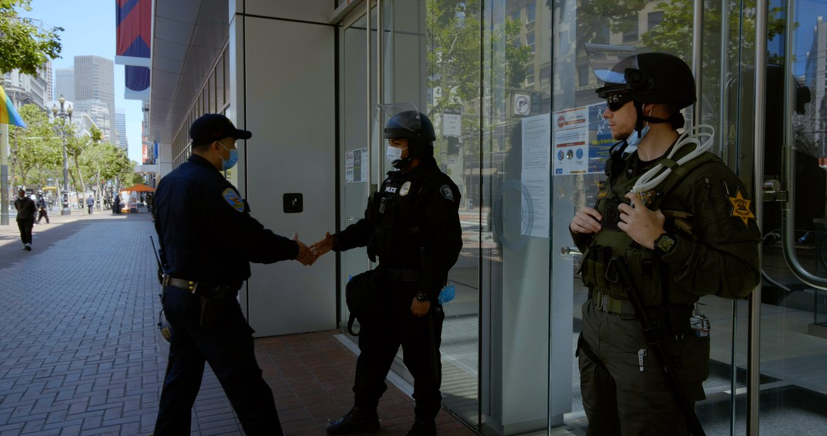San Francisco Police Getting Ready For Pro-Trump Protest at Twitter Headquarters