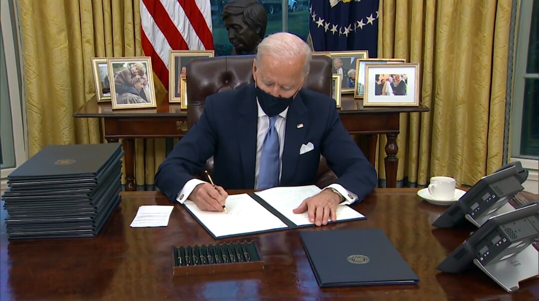 These Are The Executive Orders President Biden Has Signed so Far