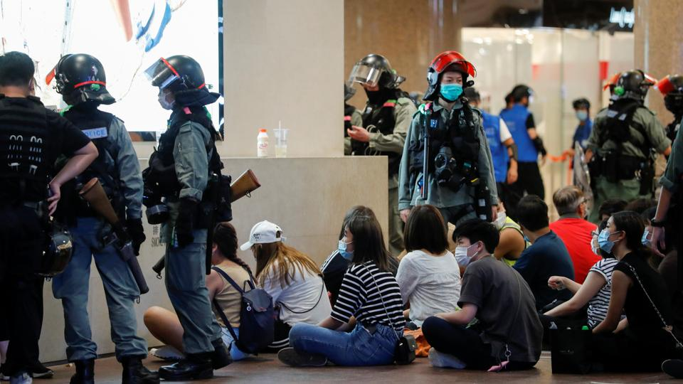 US, AU, UK, CA Condemns Mass Arrests in Hong Kong