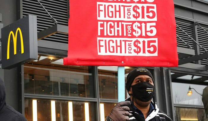 Poll: Majority of Americans Supports Raising Federal Minimum Wage to $15