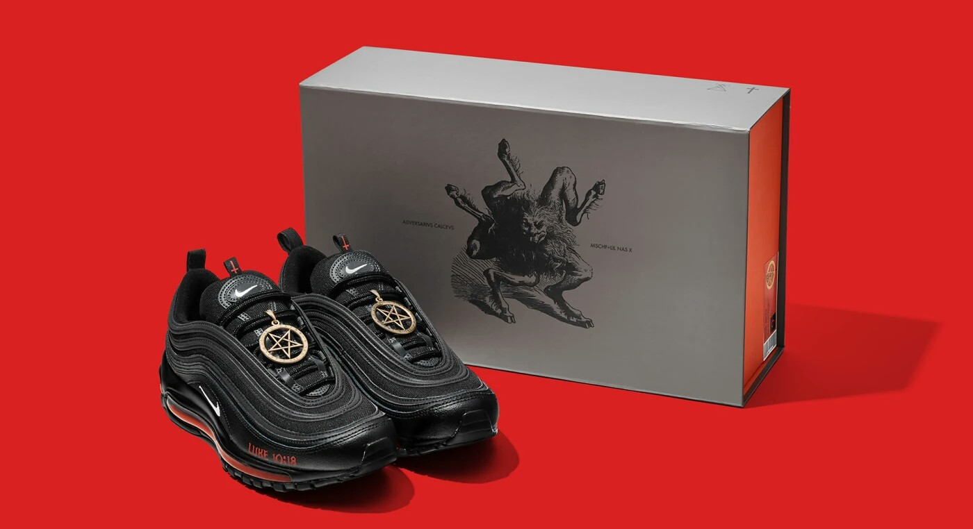 Nike Sues Maker of Lil Nas X's 'Satan Shoes'